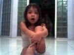 Adzie ketika berusia 2Thn