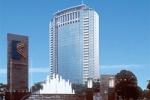 Kawasan Mega Kuningan dengan latar belakan Hotel JW Marriott