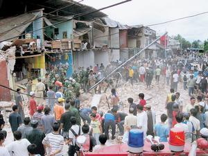 Ini adalah situasi gempa yang terjadi pada tanggal 6 Maret 2007 lalu